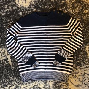 Urban Outfitters Striped Crew Neck Nautical